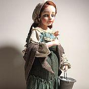 """Куклы и пупсы ручной работы. Ярмарка Мастеров - ручная работа Коллекционная кукла """"За водой"""". Handmade."""