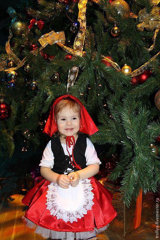 Детские карнавальные костюмы ручной работы. Ярмарка Мастеров - ручная работа. Купить Карнавальный костюм Красной шапочки. Handmade.