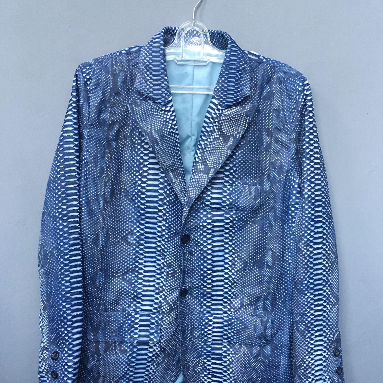 Пиджак из кожи питона, Пиджаки мужские, Санкт-Петербург,  Фото №1