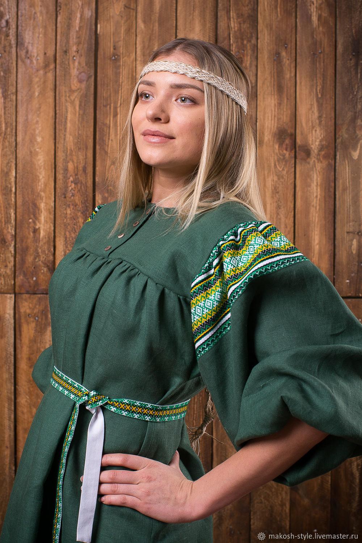 """Рубаха """"Светлолика"""", Народные платья, Омск,  Фото №1"""