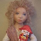 Куклы и игрушки ручной работы. Ярмарка Мастеров - ручная работа Новогодняя сказка.Мари и щелкунчик. Handmade.