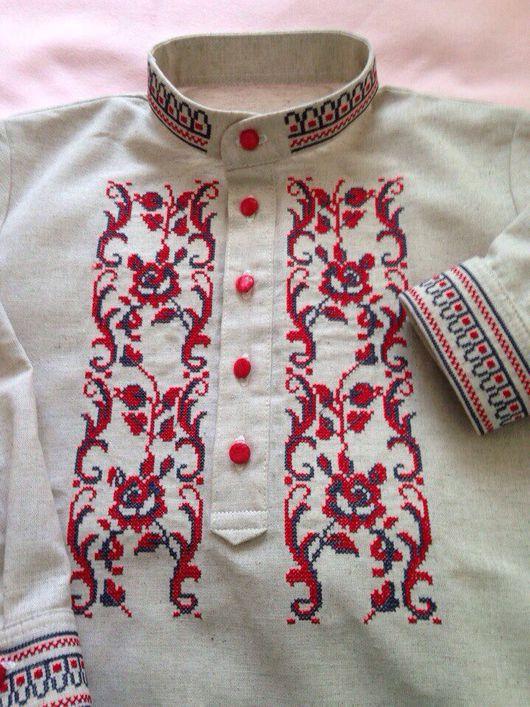 Этническая одежда ручной работы. Ярмарка Мастеров - ручная работа. Купить Рубашка с вышивкой. Handmade. Рубаха в русском стиле