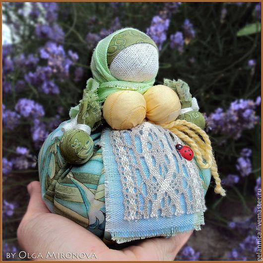 Народные куклы ручной работы. Ярмарка Мастеров - ручная работа. Купить Кубышка-Травница. Handmade. Кубышка-травница, кукла