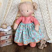 Куклы и игрушки ручной работы. Ярмарка Мастеров - ручная работа Игровая текстильная кукла. Handmade.