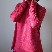 """Одежда ручной работы. Ярмарка Мастеров - ручная работа Свитер """" Зимняя ягода """". Handmade."""