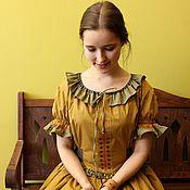 Одежда ручной работы. Ярмарка Мастеров - ручная работа Летнее платье из хлопка. Handmade.