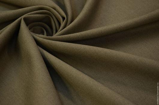 Шитье ручной работы. Ярмарка Мастеров - ручная работа. Купить Плательная ткань Италия. Handmade. Серый, плательная ткань италия
