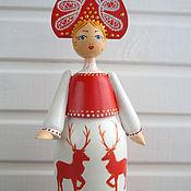 Русский стиль handmade. Livemaster - original item Wooden dolls. Handmade.