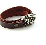 Украшения handmade. Livemaster - original item Bracelet Bear. Handmade.
