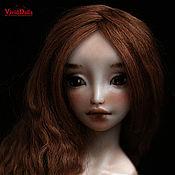 Куклы и игрушки ручной работы. Ярмарка Мастеров - ручная работа Фарфоровая шарнирная кукла Нита. Handmade.