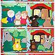Развивающие игрушки ручной работы. Мягкая развивающая книжка для малышки Али. Творческая мастерская  'Crazy mom'. Интернет-магазин Ярмарка Мастеров.