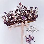 Украшения handmade. Livemaster - original item Handmade crown, for thematic wedding, holiday, photo shoot. Handmade.
