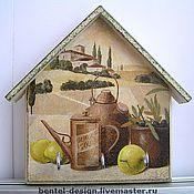 """Для дома и интерьера ручной работы. Ярмарка Мастеров - ручная работа Ключница """"Тоскана"""". Handmade."""