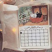 Адвент-календарь ручной работы. Ярмарка Мастеров - ручная работа Календарь 2020. Handmade.
