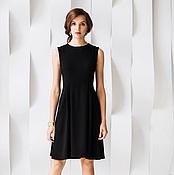 """Одежда ручной работы. Ярмарка Мастеров - ручная работа Платье черное """"Одри"""". Handmade."""