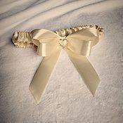 Подвязки ручной работы. Ярмарка Мастеров - ручная работа Подвязка для невесты. Handmade.