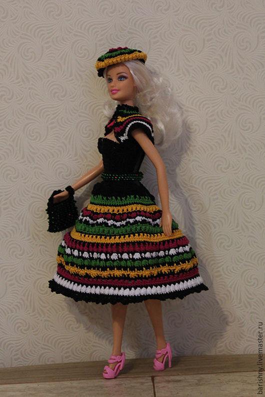 Одежда для кукол ручной работы. Ярмарка Мастеров - ручная работа. Купить Барби Гуцулочка. Handmade. Комбинированный, одежда для кукол, бисер