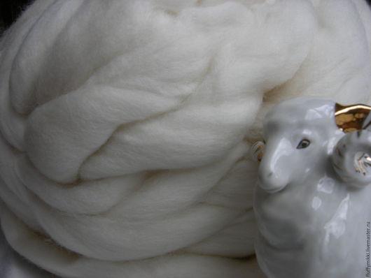 Австралийский топс меринос 18 мкм №250 белый