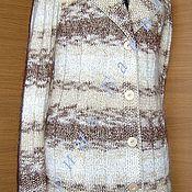"""Одежда ручной работы. Ярмарка Мастеров - ручная работа Жакет """"Капучино"""". Handmade."""