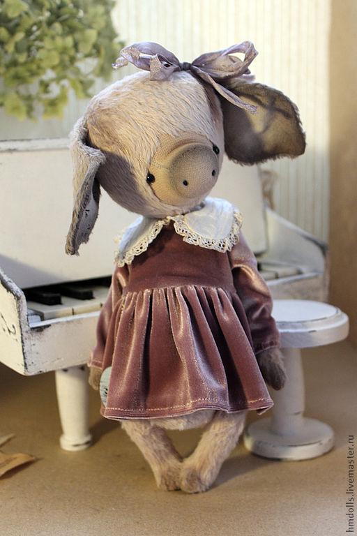Мишки Тедди ручной работы. Ярмарка Мастеров - ручная работа. Купить Нина. Handmade. Кремовый, мишки тедди, вискоза shulte