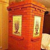 Для дома и интерьера handmade. Livemaster - original item Panel for the Russian stove.. Handmade.