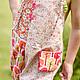 Одежда для девочек, ручной работы. Комбинезон боди летний сад Хлопок 2 г 4 5 л. Camilla Reynolds. Интернет-магазин Ярмарка Мастеров.