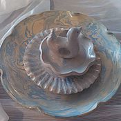 Посуда handmade. Livemaster - original item Set of plates