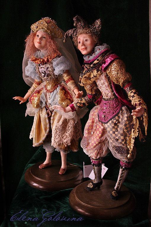 """Коллекционные куклы ручной работы. Ярмарка Мастеров - ручная работа. Купить Куклы """" Карнавал в Венеции"""". Handmade. Кукла"""
