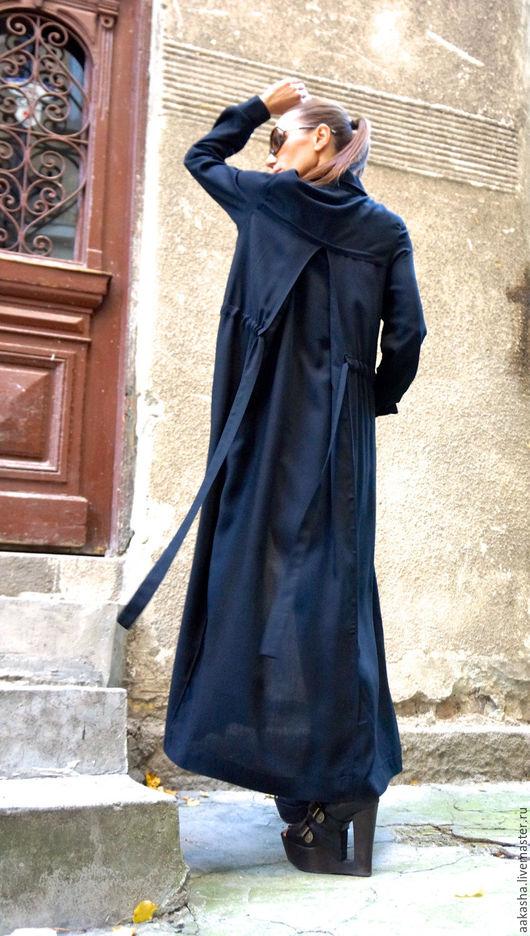 Черное платье на пуговицах свободный стиль городской стиль модное платье с рукавами свободны крой черная туника платье в пол платье макси свободное платье