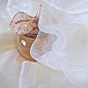 Ткани ручной работы. Ярмарка Мастеров - ручная работа Шелк маргиланский разрежены белый 90 см шириной. Handmade.