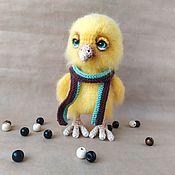 Куклы и игрушки handmade. Livemaster - original item Amigurumi dolls and toys: Knitted toy chick. Handmade.