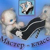 Материалы для творчества handmade. Livemaster - original item Master class on crochet toy