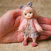 Miniature figurines handmade. Livemaster - original item Miniature doll for Dollhouse 1:12.. Handmade.