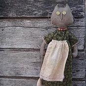 """Куклы и игрушки ручной работы. Ярмарка Мастеров - ручная работа текстильный примитив """" Кошки- мышки"""". Handmade."""