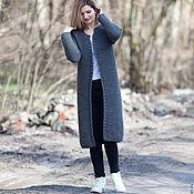 Одежда ручной работы. Ярмарка Мастеров - ручная работа Серое пальто. Handmade.