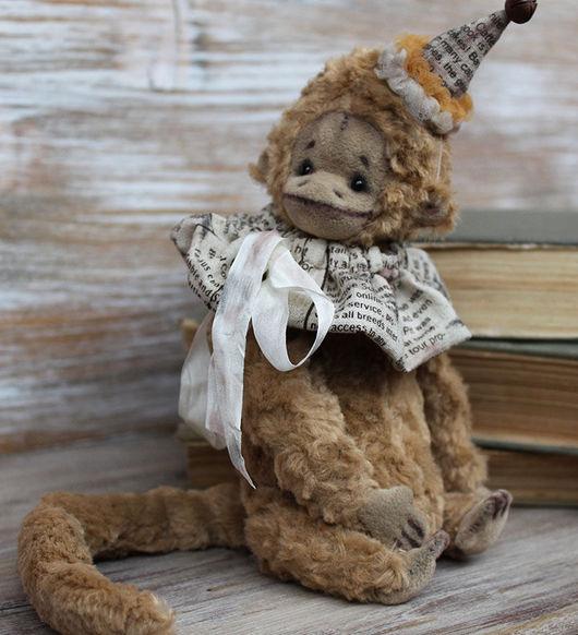Мишки Тедди ручной работы. Ярмарка Мастеров - ручная работа. Купить Обезьянка Киото. Handmade. Бежевый, обезьянка игрушка