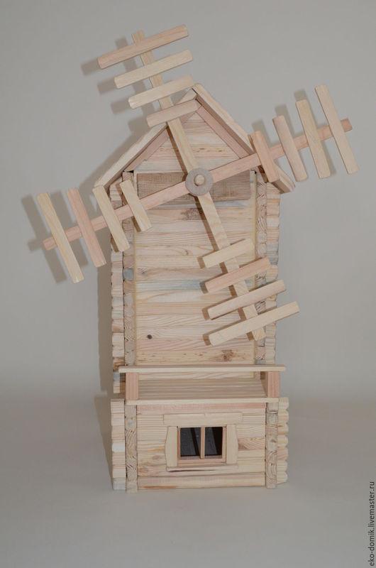 Кукольный дом ручной работы. Ярмарка Мастеров - ручная работа. Купить Мельница. Handmade. Бежевый, русский стиль, сделано в россии