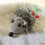 Для дома и интерьера ручной работы. Ярмарка Мастеров - ручная работа Ёжик подарок из леса. Handmade.