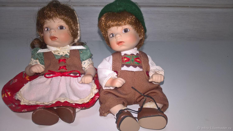 Фарфоровые куклы Гретта и Ганс, Портретная кукла, Москва,  Фото №1