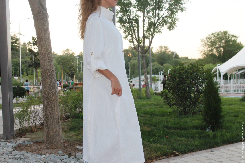 A duster, 'White Boho', Raincoats and Trench Coats, Tashkent,  Фото №1
