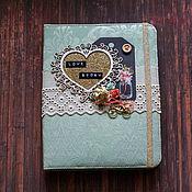 Канцелярские товары handmade. Livemaster - original item Album for lovers. Handmade.
