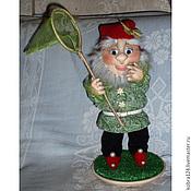 """Куклы и игрушки ручной работы. Ярмарка Мастеров - ручная работа Кукла сувенирная """"Гномик Стёпа"""". Handmade."""