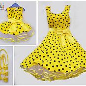Одежда ручной работы. Ярмарка Мастеров - ручная работа Платья для мамы и дочки Маркиза, комплект. Handmade.