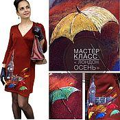 Схемы для вышивки ручной работы. Ярмарка Мастеров - ручная работа Схемы: МК» Лондон». Handmade.