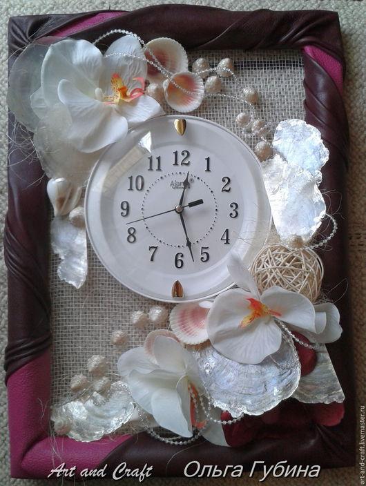 """Часы для дома ручной работы. Ярмарка Мастеров - ручная работа. Купить Интерьерная композиция """"Часы дизайнерские"""". Handmade. Комбинированный"""