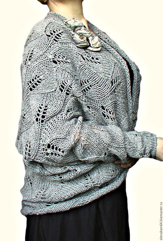 Кофты и свитера ручной работы. Ярмарка Мастеров - ручная работа. Купить кардиган вязаный. Handmade. Кардиган, кофта женская вязаная