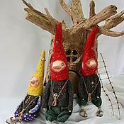 Куклы и игрушки ручной работы. Ярмарка Мастеров - ручная работа Гномы весенние. Handmade.