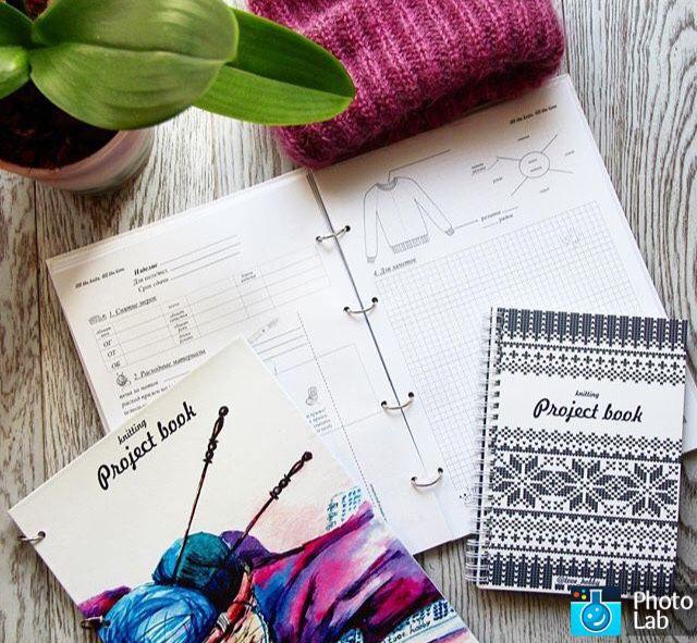 Knitting Project Book купить в интернет магазине на ярмарке