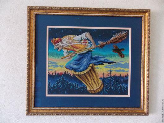Тем, кому в детстве читали русские-народные сказки, кто обожает сказочных героев, придется по душе данная картина