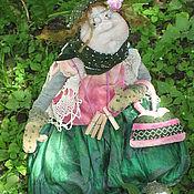 Куклы и игрушки ручной работы. Ярмарка Мастеров - ручная работа Зелёненькая моя. Handmade.